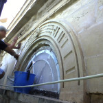 Restoration and pointing works of existing facade of a building at 225 Tower Road Sliema (Lombard Bank)