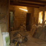 Reinstatement of roof and construction works in a house of character at Zejtun.