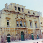 Cleaning and pointing of facade at Scamps Palace, Cottonera (Casino' di Venezia)